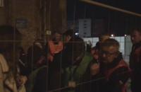 Kłótnie z ochroniarzami przed Plener33