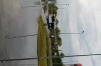 Dojazd do Ergo Areny, zalany