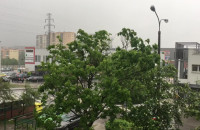 Burza i deszcz