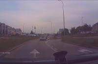 Niebezpieczne zachowanie kierowców