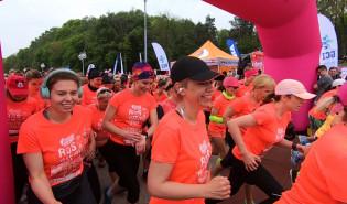 Ponad 1,5 tys. uczestniczek kobiecego biegu