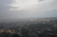 Kolejna wieczorna burza nad Wrzeszczem