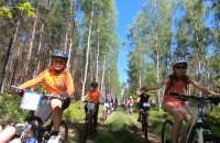 Rodzinnie, po lesie na Kaszebe Runda Kids