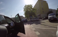 """""""Wolna amerykanka"""" na pasie rowerowym"""