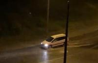 Burza w Trójmieście. Ulicą Wielkopolską w Gdyni płynie rzeka