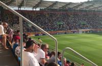 Upał na półfinale Włochy - Ukraina