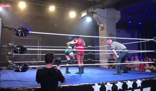 Wrestling kobiet podczas Szlamfest3