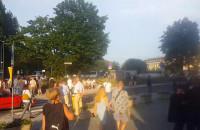 Ewakuacja Teatru Muzycznego w Gdyni
