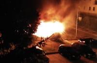 Pożar na Osowei