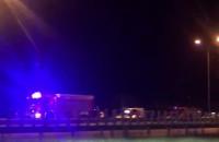 Korek na Obwodnicy z powodu wypadku