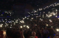 Mark Knopfler - rozświetlona Ergo Arena