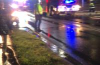Pożar szeregowca w Lublewie k.Kolbud