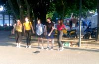 Uliczni grajkowie w Gdyni