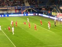 Lukas Haraslin strzela do bramki Piasta Gliwice