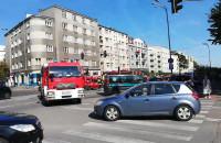 Wypadek na skrzyżowaniu ul. Śląskiej i Podolskiej w Gdyni