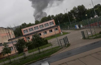 Pożar w Gdańsku