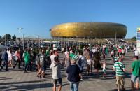 Tłumy kibiców Lechii w drodze na mecz
