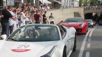 28 aut Ferrari odwiedziło Sopot