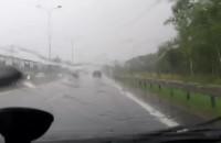 Opady deszczu na obwodnicy