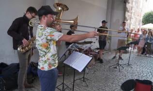 Muzycy na ulicy, czyli gdańscy grajkowie na Długim Targu