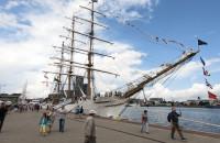 Brazylijska fregata Cisne Branco w Gdyni