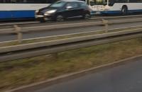 Zatrzymanie dwóch trolejbusów na Morskiej