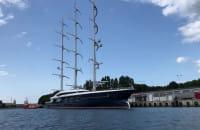 Black Pearl zacumował w Gdańsku