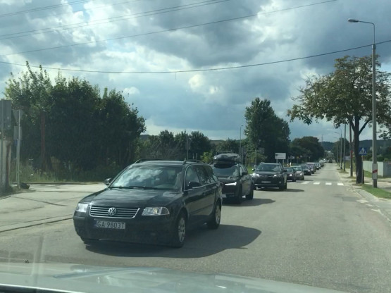 Korek do lotniska w Kosakowie - dojazd na AeroBaltic