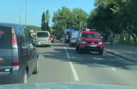 Skutki wypadku na Potokowej