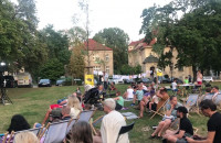 Improwizowany koncert we Wrzeszczu