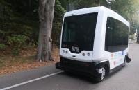Autonomiczny bus kursuje do ZOO w Gdańsku