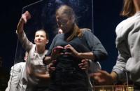 Teatr uliczny na molo w Sopocie