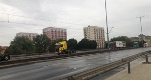 Miss wśród ciężarówek - dumnie przejechały przez Gdańsk!