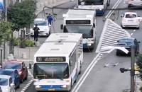 Parada pojazdów komunikacji miejskiej w Gdyni