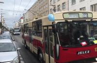 Parada pojazdów ZKM Gdynia z okazji 90 lat