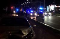 Wypadek 3 samochodów cd