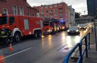 Duże utrudnienia na Grunwaldzkiej po pożarze w kamienicy