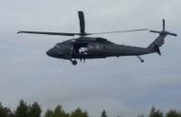 Ćwiczenia ze śmigłowcem Blackhawk na Matarni