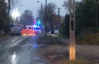 Skutki wypadku w Osowej