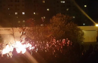Pokaz ognia w Plamie