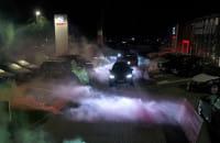 Nocne jazdy testowe Seatem