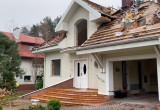 Opuszczone domostwa w miejscu przyszłej Trasy Kaszubskiej