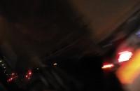 Korek po kolizji w tunelu pod Martwą Wisłą