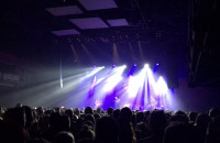 Publiczność śpiewa na koncercie Natalii Przybysz