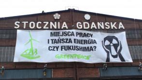 Greenpeace atakuje atom