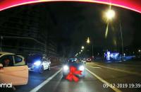 Wypadek na ul. Obrońców Wybrzeża i interesujące zachowanie kierowcy