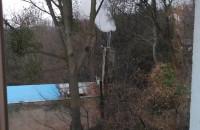 Smog z domu sąsiadów