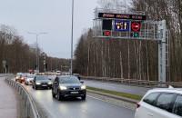 Autobusy już na kontrbuspasie na Chwarznieńskiej