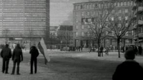 17 grudnia 1981. Tereny dawnych parkingów przed Zieleniakiem