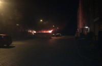 Pożar śmietnika na Witominie